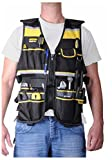 Electrician Carpenter Framer Plumber Construction Tool Vest Bag
