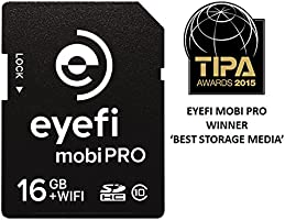Eyefi mobiPro-16 SDHC Class 16GB 10 WiFi - Tarjeta de Memoria + 1-año Eyefi Cloud