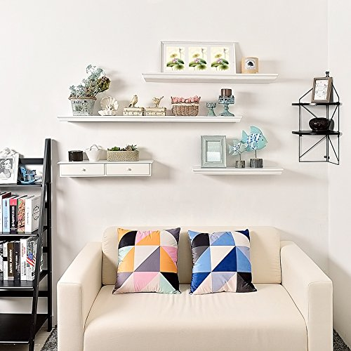 Ikea Kitchen Accessories Uae: WELLAND Floating Shelves White Floating Shelves White Deep