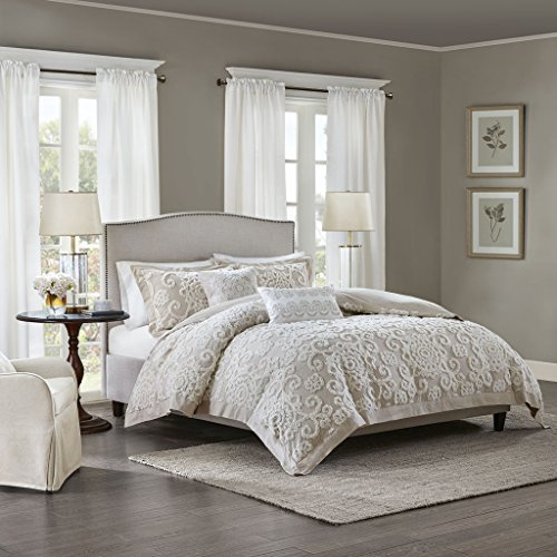 Harbor House Suzanna Square Pillow, Taupe