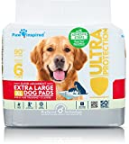 Paw Inspired Ultra Protection Puppy Training Pads with Adhesive Strips, X-Large, 50 CT