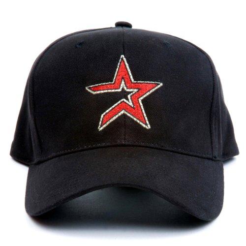 Fiber Optic Baseball Caps (MLB Houston Astros LED Light-Up Logo Adjustable Hat)