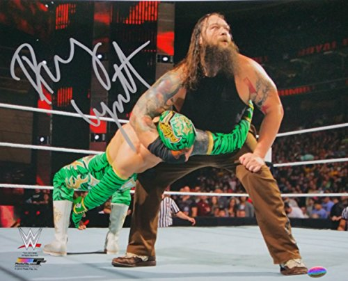 Bray Wyatt Signed WWE 11x14 Photo vs Sin Cara SI