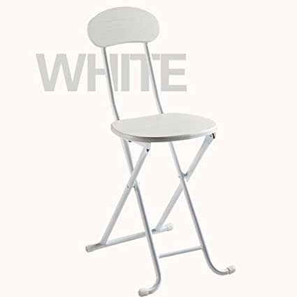 Amazon.com: GYM Fold Stool Chair Home bar Stool Dining Chair ...
