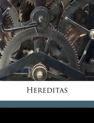 Hereditas Volume bd.3 1922 PDF