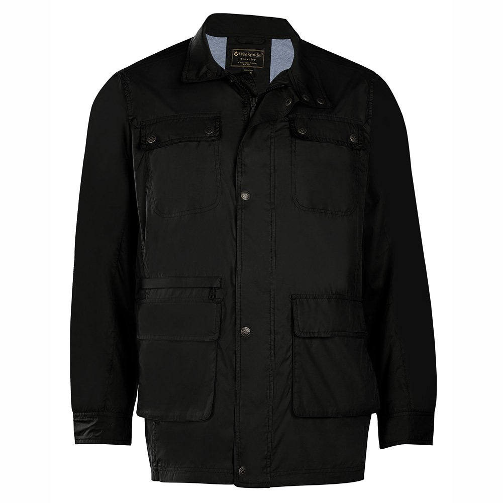 Weekender Men's Tripper Travel Jacket Black Small
