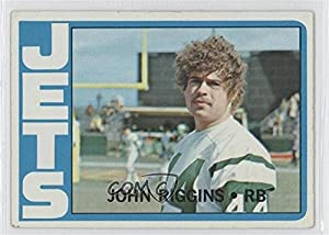John Riggins COMC REVIEWED Good to VG-EX (Football Card) 1972 Topps #13