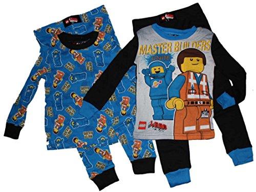 Lego Movie Boys 2 Pack Pajamas