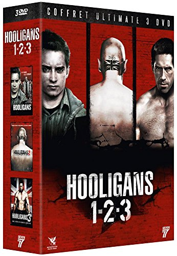 Hooligans Collection (1-2-3) - 3-DVD Box Set ( Green Street Hooligans / Green Street Hooligans 2 / Green Street 3: Never Back Down ) [ NON-USA FORMAT, PAL, Reg.2 Import - France ] (Never And 2 1 Down Back)