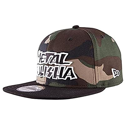 Metal Mulisha Men's Disrupt Snapback Hat Camo Green Blk