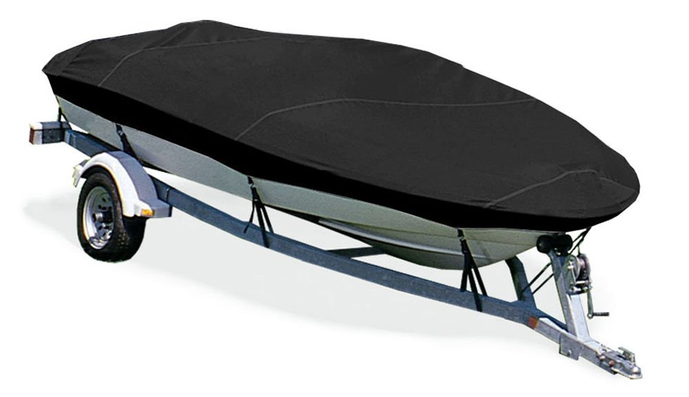 Taylor Made Products Trailerite Semi-Custom Boat Cover for V-Hull Fishing Boats with Outboard Motor 87012
