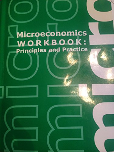 MICROECONOMICS WORKBOOK