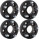 ECCPP Wheel Spacers Hubcentric,4X 1.25 inch 5 lug 5x4.5 to 5x5 Wheel Spacer Adapter Fit for Jeep Wrangler JK RIMS on A TJ OR YJ