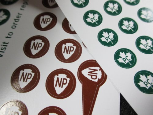 National Markers Travel Sticker CANADA product image