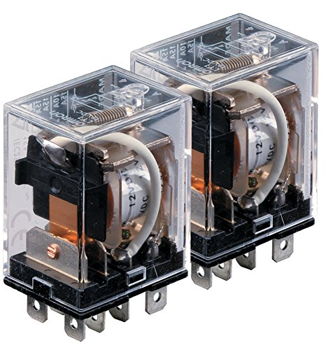 Omron LY2-AC24 (PACK OF 2) General Purpose Relay, 53.8 mA at 50 Hz and 46 mA at 60 Hz Rated Load Current, 24 VAC Rated Load Voltage