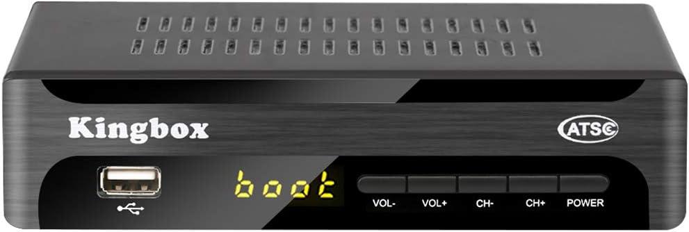 Caja convertidora Digital para TV analógica, Q03S ATSC Convertidor Caja HD 1080P con grabación, Pausa TV en Vivo, reproducción Multimedia USB y HDTV Set Top Box [2019 versión actualizada]: Amazon.es: Electrónica