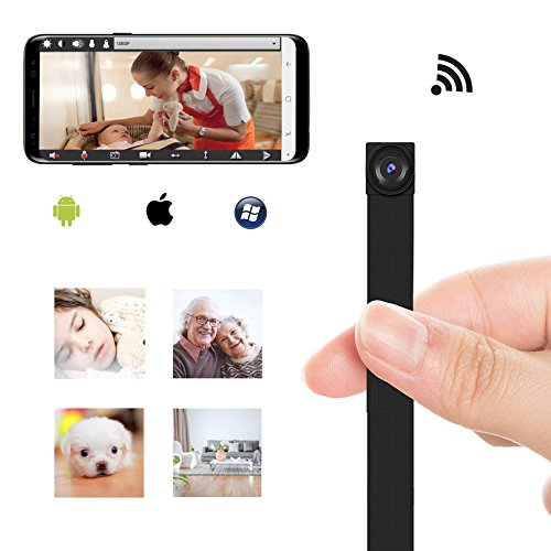 Module Cam (WiFi Mini Spy Camera DIY Module Smallest Hidden Camera 1080P Nanny Camera with Motion Detection for Home Office)