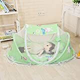Baby Travel Bed, Foldable Baby Crib Mosquito Net Tent...