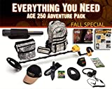 Garrett Ace 250 Metal Detector Adventure Pack Fall Special with ProPointer and Eight Essential Accessories