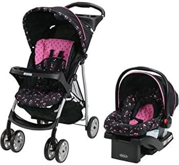 Graco LiteRider Travel System w/ 22 Infant Car Seat