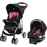 Graco LiteRider Click Connect Travel System - with SnugRide Click Connect 22 Infant Car Seat - Priscilla