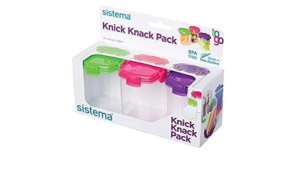 Amazon.com Sistema 0.5 Cup Knick Knack Snack Bowl (3 Pack) Medium Multicolor by Sistema Paintings  sc 1 st  Amazon.com & Amazon.com: Sistema 0.5 Cup Knick Knack Snack Bowl (3 Pack) Medium ...