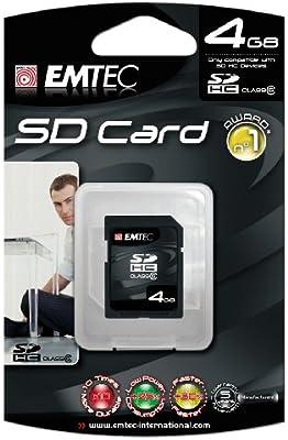 Amazon.com: Emtec 133 x Tarjeta de memoria SD de alta ...