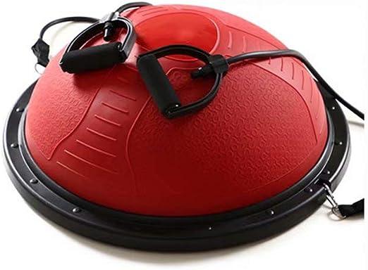Red Balance Trainer, Media Pelota de Ejercicio ø60 cm con Asas ...
