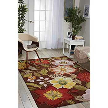 Amazon.com: Nourison South Beach interior/exterior Alfombra ...