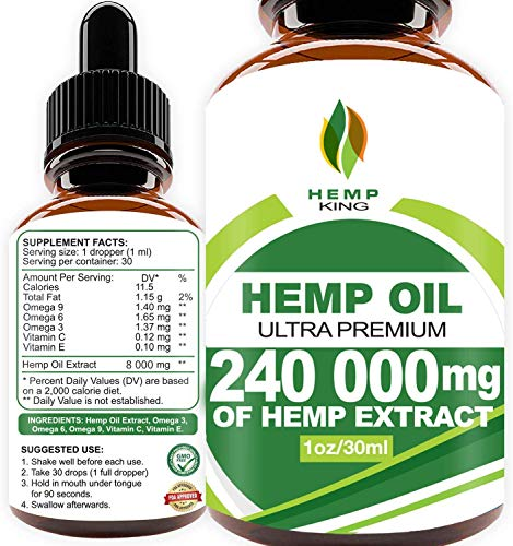 Hemp Oil Drops 240 000 mg