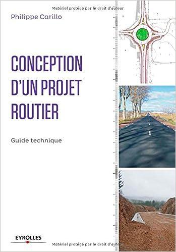 Amazonfr Conception Dun Projet Routier Guide Technique