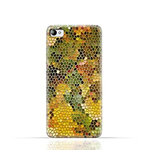 Lenovo S90 Sisley TPU Silicone Case with Stained Glass Art