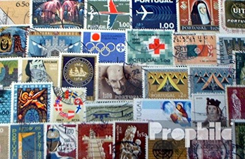 Portugal 50 Different Special Stamps and Large (Stamps for Collectors)