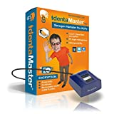 IdentaMaster Biometric Security Software with SecuGen Hamster Pro HUPx - Encryption, PC Login for Win 7/8/10