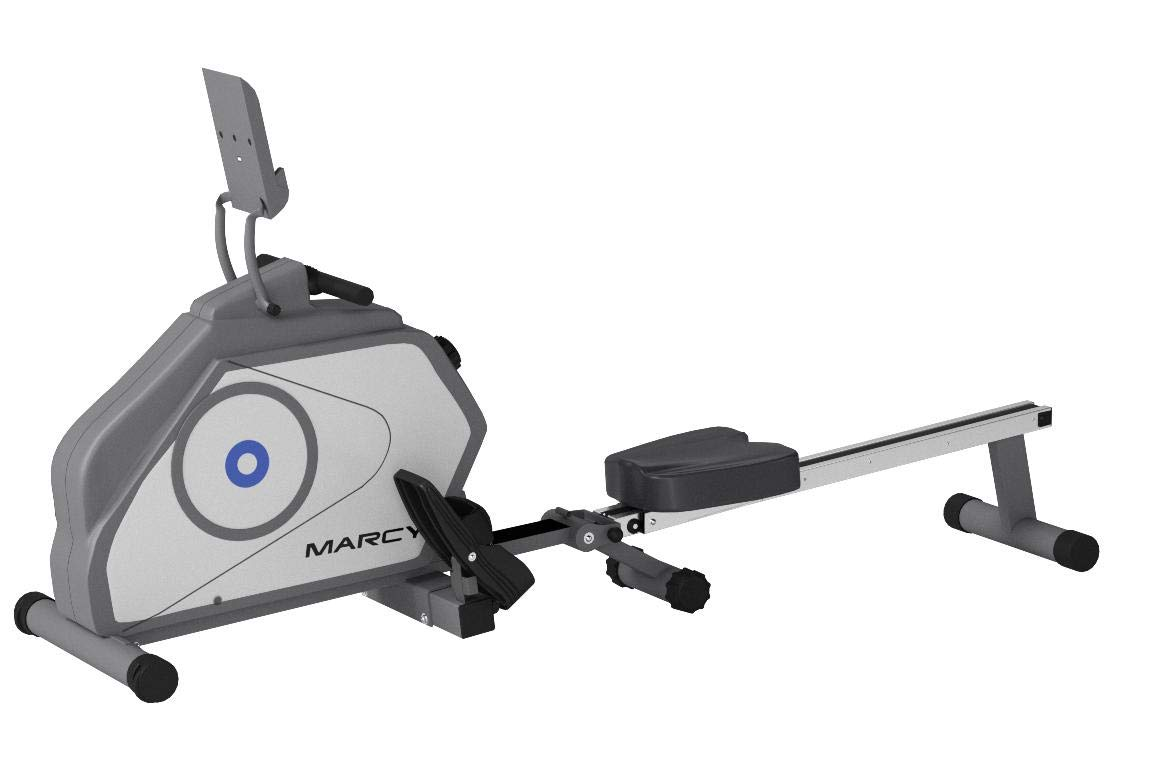 Marcy Foldable 8-Level Magnetic Resistance Rowing Machine with Transport Wheels NS-40503RW by Marcy (Image #6)