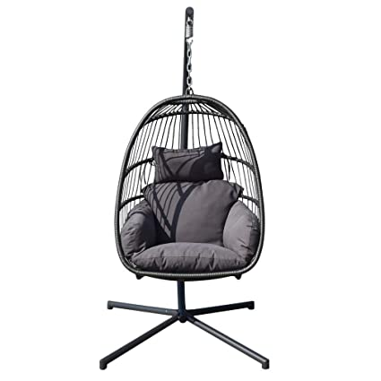 Magnificent Amazon Com Genuine Store Detachable Hanging Egg Chair Home Interior And Landscaping Ologienasavecom