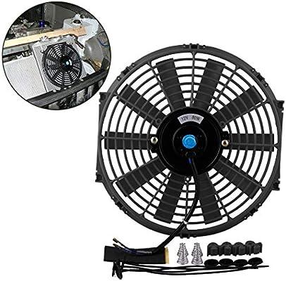 Fansport Ventilador del Radiador del Coche Universal 12V 80W ...
