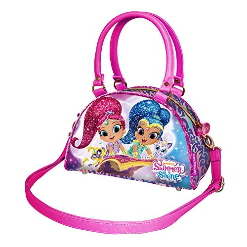 Karactermania Shimmer And Shine Borsa Messenger, 22 cm, Rosa