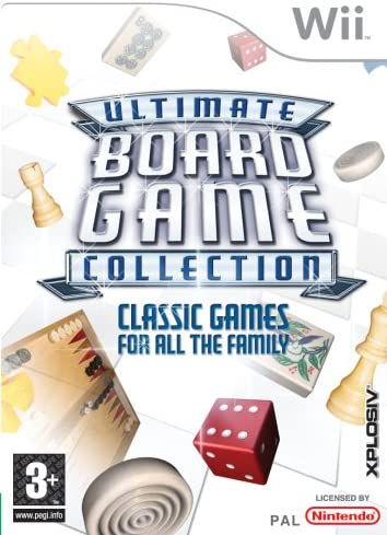 Good - Ultimate Board Game Collection for Nintendo Wii (Wii U compatible): Amazon.es: Videojuegos