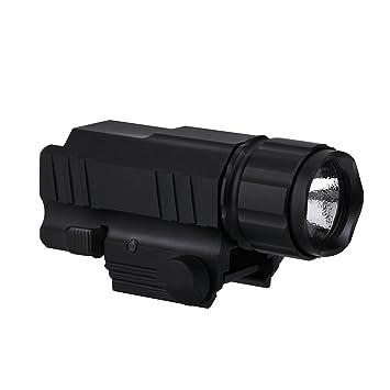 Mini Tactique De Chasse Lampe Torche Ultra Lumineuse Led 200lm