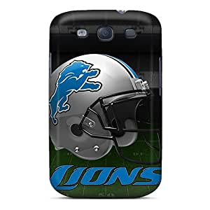 Fashion Protective Detroit Lions Case Cover For Galaxy S3
