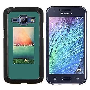 Stuss Case / Funda Carcasa protectora - Texte de motivation de citation - Samsung Galaxy J1 J100