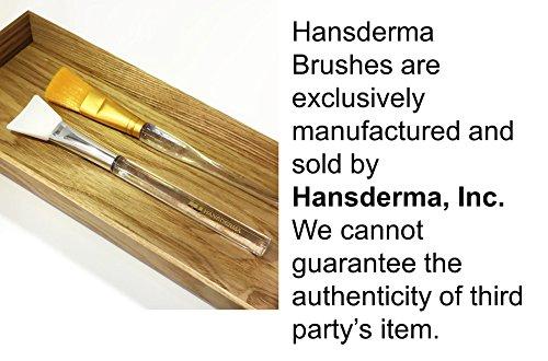 Large Product Image of Hansderma Skinsoft Facial Mask Brush, Golden Brush