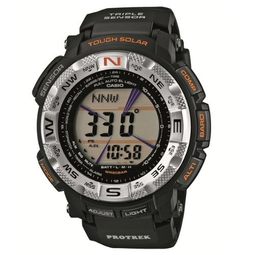Casio Men's PRG260-1 Pro-Trek Watch with Black Band