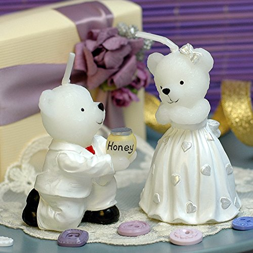 AiXiAng-Delicate-Love-BearsHoney-Handmade-Candle-Cake-Topper-Wedding-Bridal-Shower-Favors-Giveaway-with-Thank-You-Card-Gift-Boxed-for-Guests-Keepsake-Gift
