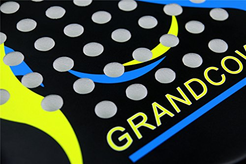 Tennis Padel Paddle Pro Carbon Fiber Power Lite Pop EVA Foam beach paddle tennis Paddleball racket racquets by GRANDCOW