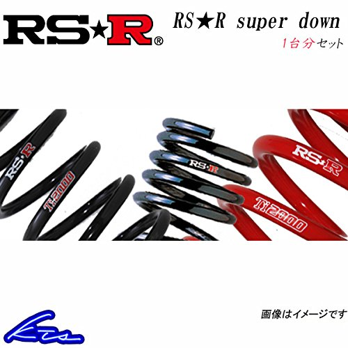 RS-R RS-Rスーパーダウン 1台分 ダウンサス プリウスα ZVW40W T088S B07CZ3G1PF