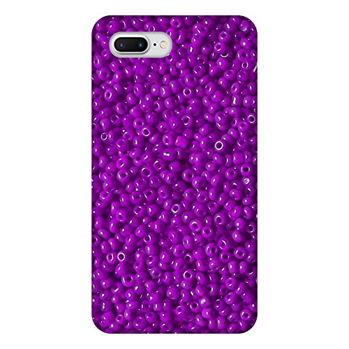 Coque Apple Iphone 7+ - Perles violettes