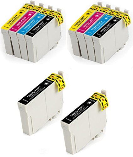 10 Pack Elite Supplies ® Remanufactured Inkjet Cartridge Replacement for #200 #200XL T200 T200XL, Epson Expression XP replacement ink, Epson T200XL120 T200XL220 T200XL320 T200XL420 Works With Epson Expression XP-200 Small-in-One, Expression XP-300 Small-