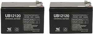 Universal Power Group 12Volt 12AH Battery for Go-Go Mobility Elite Traveller SC40E, SC44E - 2 Pack